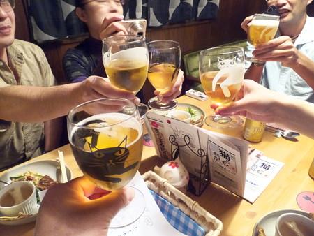 もう一回乾杯!