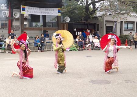 タイランドの踊り