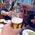 写真: またまた乾杯(w)