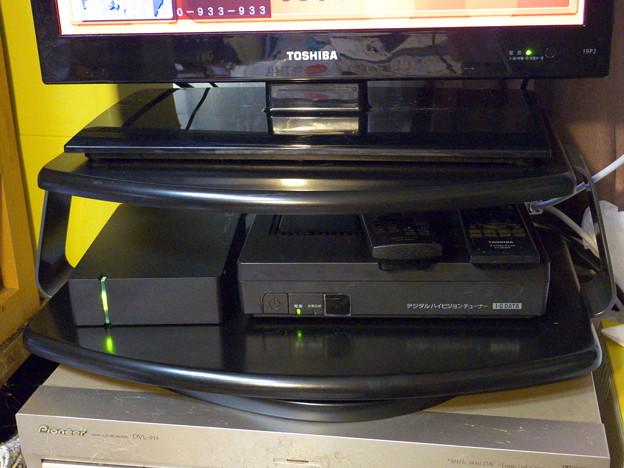 ハードディスクを付けてみました。