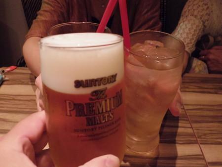 やっぱり乾杯(w)