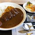 写真: 郡上味噌カツカレー1,030円