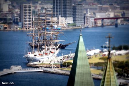 港が見える場所