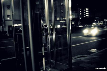 電話ボックスの夜#1