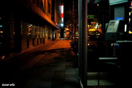 電話ボックスの夜#3