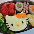 写真: Hello Kitty's bento