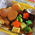 写真: ミッキーパンケーキ弁当