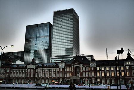 東京駅今昔(1)