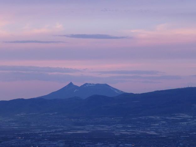 函館の山々