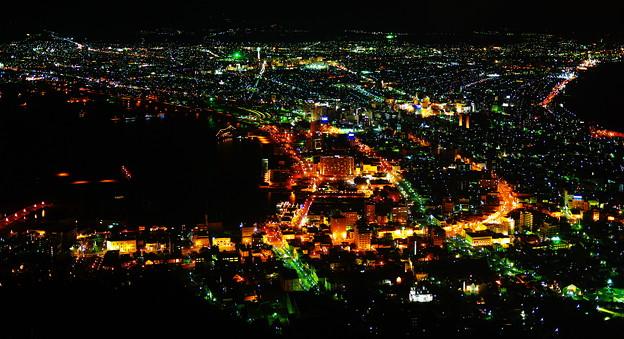 函館の夜景ver.2