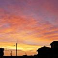 Photos: 朝焼けの移り変わり 1