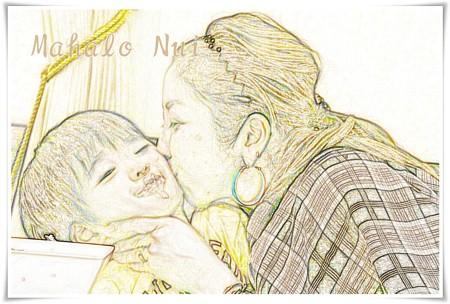 母と子の愛情