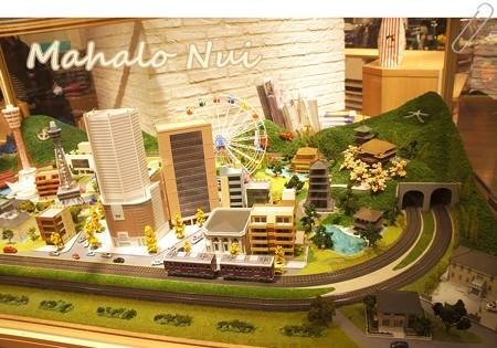 大阪の街模型1