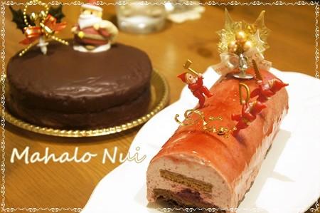 クリスマスケーキです