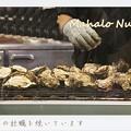写真: 広島牡蠣を焼いてるところを撮影