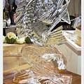 写真: 氷の彫刻1