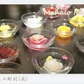 写真: 野菜の彫刻(花)