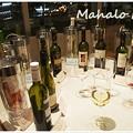 写真: ワインは自由にサーブ