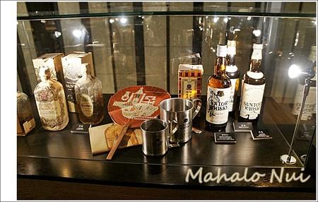 ウイスキーに纏わる展示品1