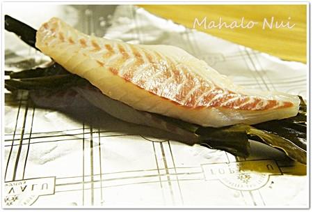 鯛の昆布締めを作ろう