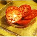 写真: 冷やしトマト