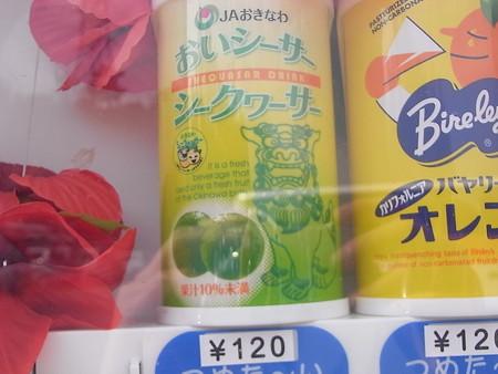 沖縄の自動販売機にて(1)
