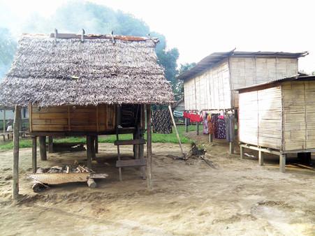 地元の村へ