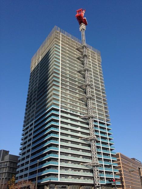 20140103 マンション建築中