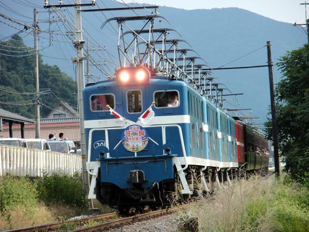 秩父鉄道EL5重連パレオエクスプレス