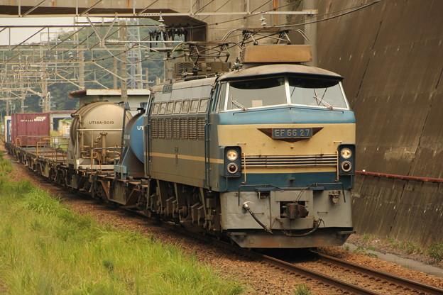 EF66ー27号機1359レ 船橋法典駅