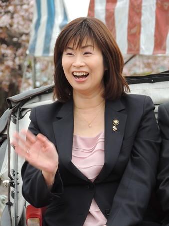 鈴鹿市長の末松則子さん。