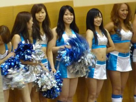 三菱電機のバスケチーム。