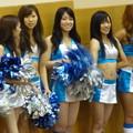 Photos: 三菱電機のバスケチーム。