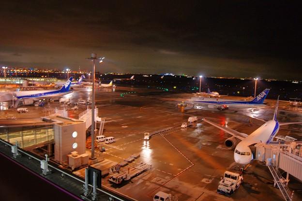 羽田空港第二ターミナル・展望デッキから