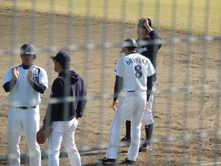 052 平田は平野コーチとでした