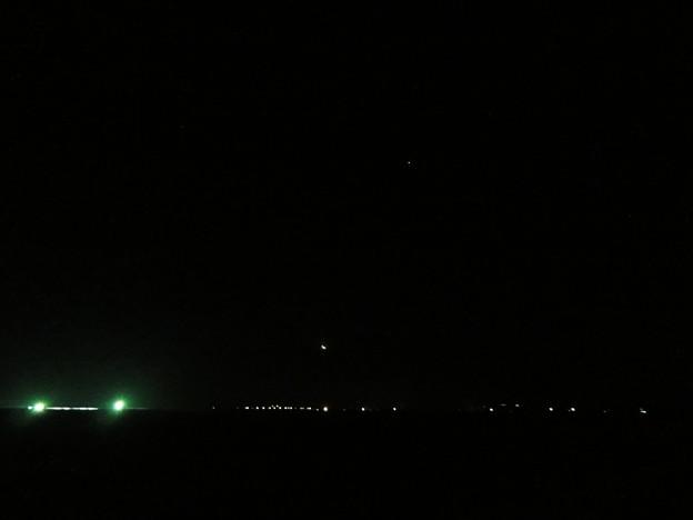 金星食中の月の高度   DSC03293