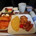 Photos: デルタ航空ビジネスクラス朝食