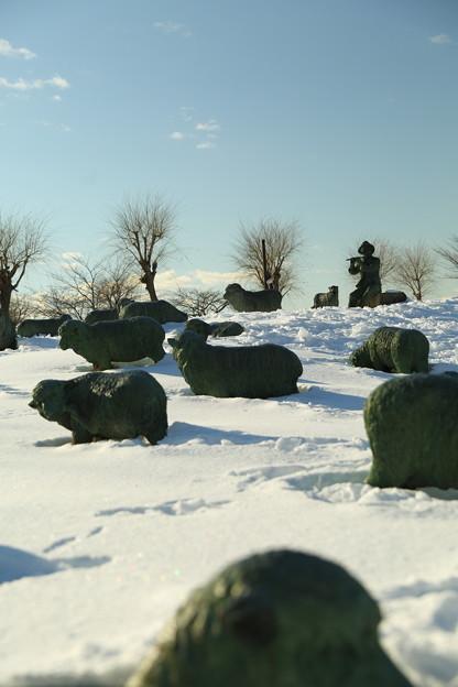 諏訪湖の石彫公園