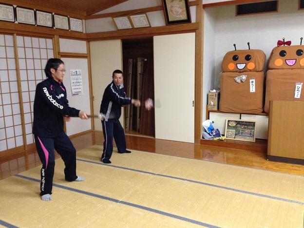 棒踊り 特訓