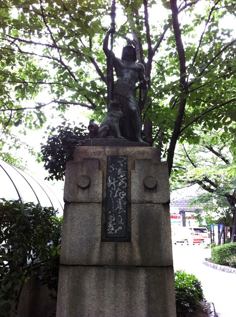 関東大震災記念塔銅彫刻