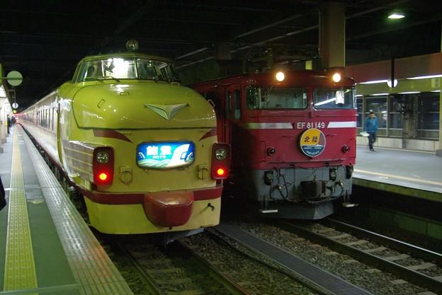 489系電車Z01編成 能登・EF81-149~編成 北陸