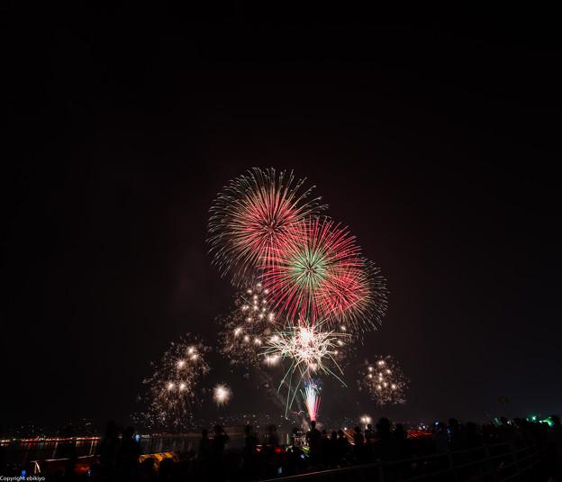 福山夏まつり2013 あしだ川花火大会