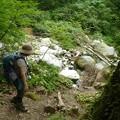 2012.07.29大山262阿弥陀川が見えてきました