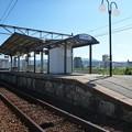 三滝駅に到着9:39