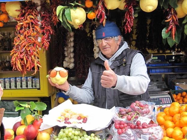 アマルフィーの果物売り
