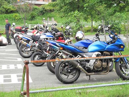 IMG_6334 多くのバイクたちが