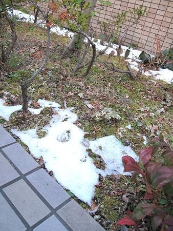 IMG_7527 雪残る青空ガレージ
