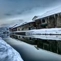 小樽運河~氷点下の静けさ
