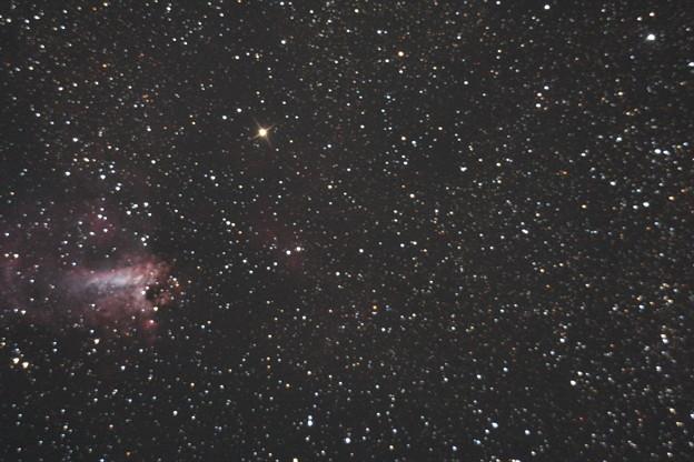 M17いて座オメガ星雲
