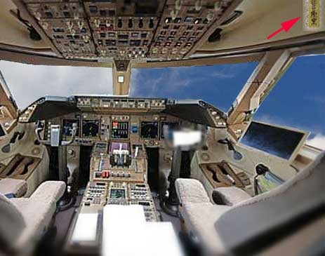 High Technology parody;Talisman of 747 cockpit